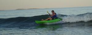 David Lee on Yak Board